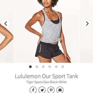 Lululemon Our sport tank top